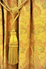 Curtain decorative tassel
