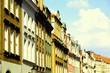 Poznan retro. Cross processed color tone.
