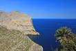 canvas print picture - nordküste von mallorca