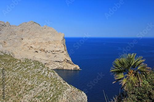 canvas print picture nordküste von mallorca