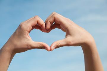 Hand und Herz