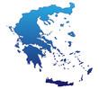 Griechenland in Blau