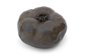 Ripe black sapote fruit