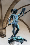 Perseus with the head of Medusa, Benvenuto Cellini, Florence, It poster