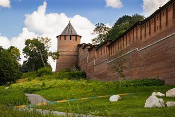 Borisoglebskaya tower. Nizhny Novgorod. Russia