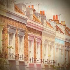 London Camden. Cross processed color tone.