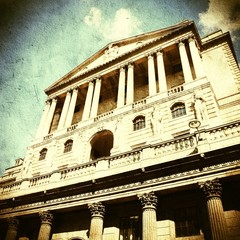 London filtered image. Cross processed color tone.