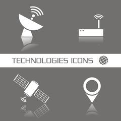 Technologies icons FO reflejo
