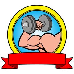 Bodybuilding Contest Banner