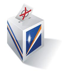 Wahlbox Marshallinseln
