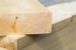 Leinwanddruck Bild - Holz - Holzbalken - Bohlen - Baustoffe - Holzbau - Bauen