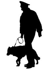 Police and dog