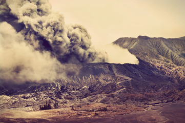 Volcanoes of Bromo National Park, Indonesia