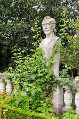 Statue  Miguel de Cervantès