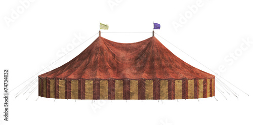 Tuinposter Carnaval Carnival Tent