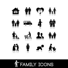 Family Icons - Set 3