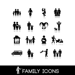 Family Icons - Set 4
