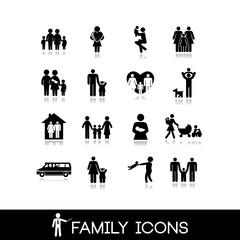 Family Icons - Set 4