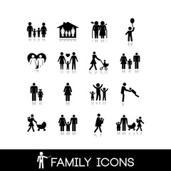 Family Icons - Set 6