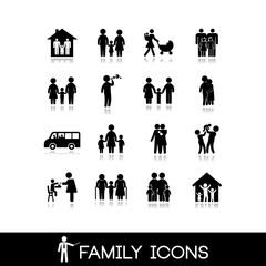 Family Icons - Set 10