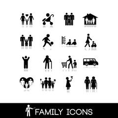 Family Icons - Set 5