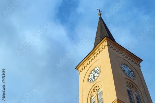 canvas print picture Kirchturm