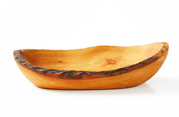 Olive wood hand-crafted Natural Edge Bowl