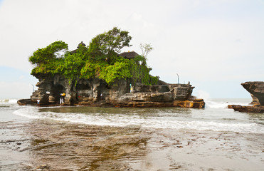 Temple on water Tanah Lot, Bali