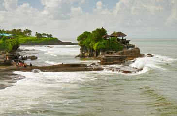 Temple on water Tanah Lot
