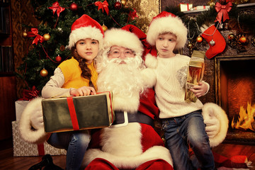 kind old santa