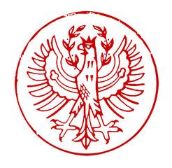 Poststempel Wappen Südtirol