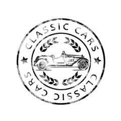 Alter Poststempel Classic cars