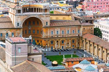 The Belvedere Courtyard in Vatican City