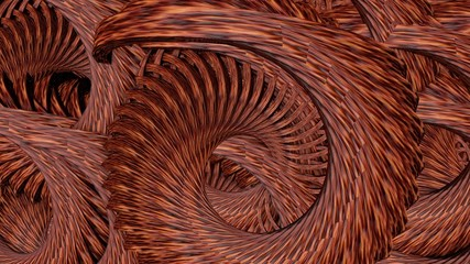 Abstract background in dark copper color