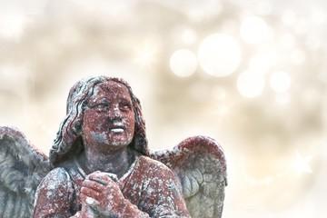 Engel mit Textfreiraum