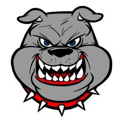 Bulldog Head On View