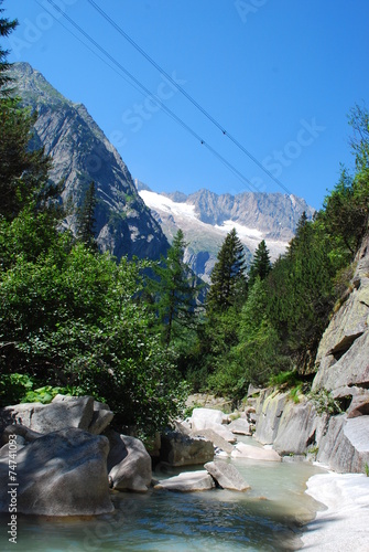 canvas print picture Berge