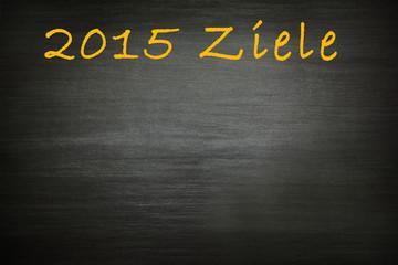 meine Ziele 2015