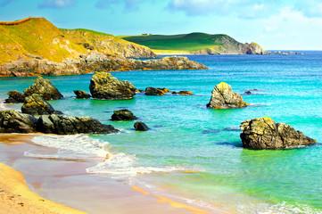 Sango bay Durness beach. Highlands of Scotland