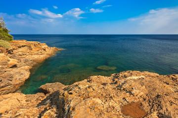 coast on Elba Island