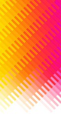 Color gradient, yellow, red. Mosaic background.