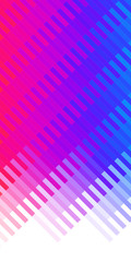 Color gradient, red, blue. Mosaic background.