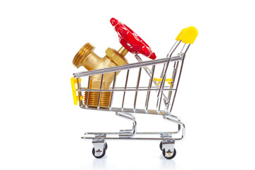 Tools in shopping cart