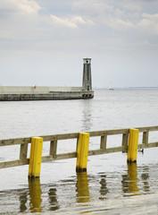 Baltic sea in Gdynia. Poland