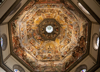 The Judgment Day, inside the Dome of Florence
