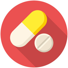 Vitamin pills icon