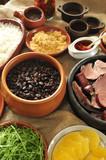 Fototapety feijoada, black beans and meat stew, Brazilian cuisine