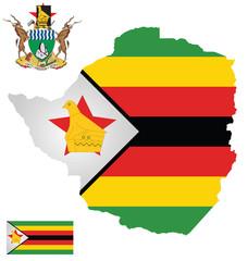 Republic of Zimbabwe flag