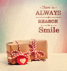 There is always a reason to smile with cute little gift boxes