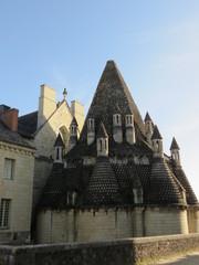Maine-et-Loire - Abbaye de Fontevraud - Cuisines romanes